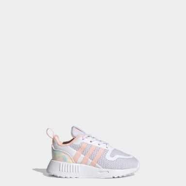 Mädchen Originals Multix Schuh Weiß