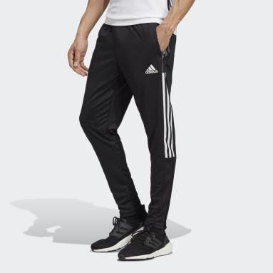 Muži Fotbal černá Sportovní kalhoty Tiro 21