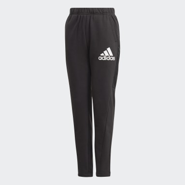 Boys Training Black Badge of Sport Fleece Pants
