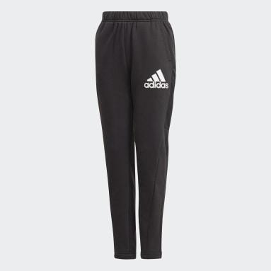 черный Флисовые брюки Badge of Sport