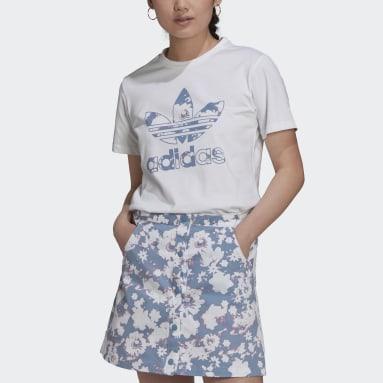Polo Blanco Mujer Originals