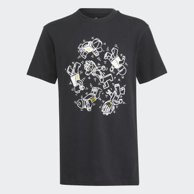 T-shirt adidas x LEGO® Graphic Noir Enfants Fitness Et Training