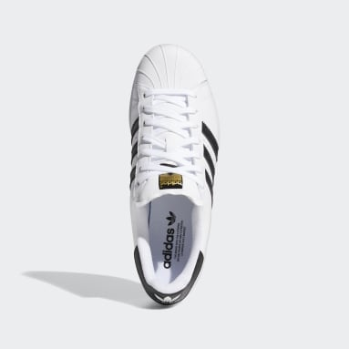 Golf White Superstar 80s Golf Shoes