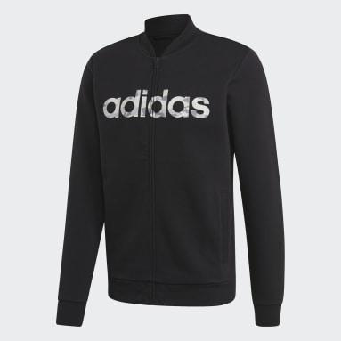 Bomber Commercial Noir Hommes Sportswear