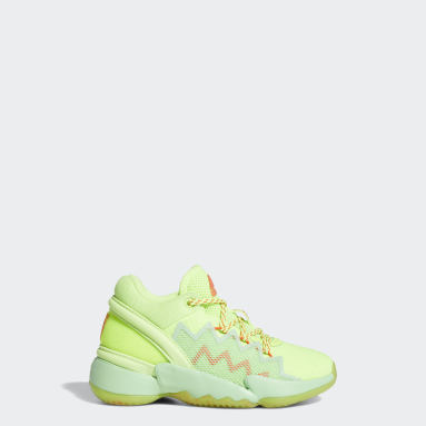 Kids Basketball Green D.O.N. Issue #2 Marvel Spidey Sense Shoes