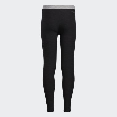 Youth Running Grey Colorblock Mélange Tights