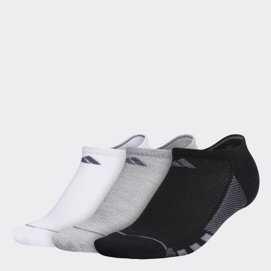 Women's Training Multicolor Superlite Stripe No-Show Socks 3 Pairs