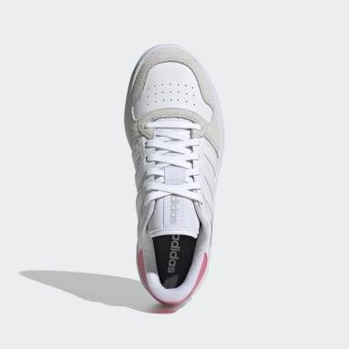 Zapatilla Breaknet Plus Blanco Mujer Sportswear