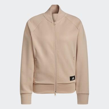 бежевый Куртка-бомбер adidas Sportswear Future Icons Logo Graphic