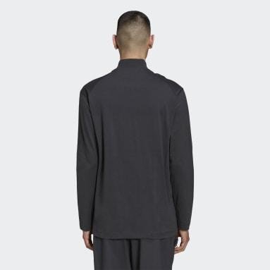Mænd Y-3 Grå Y-3 Classic Mock Neck trøje