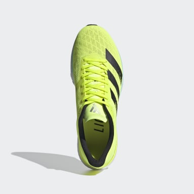 Running Yellow Adizero Adios 5 Shoes
