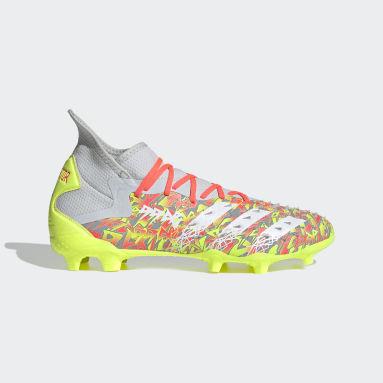 Men's Soccer Grey Predator Freak.2 Firm Ground Cleats