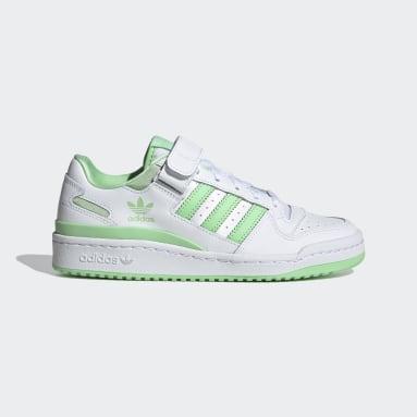 ผู้หญิง Originals สีขาว รองเท้า Forum Low