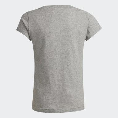 Youth 8-16 Years Sportswear Grey adidas Essentials T-Shirt