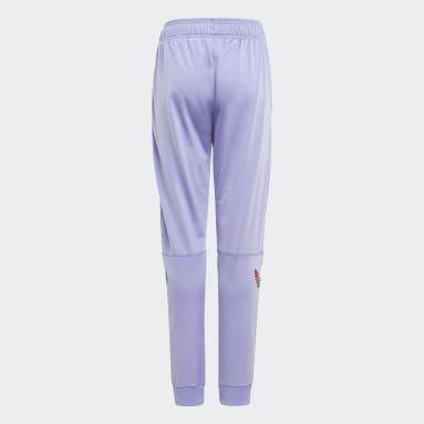 Pantalón Adicolor Violeta Niño Originals