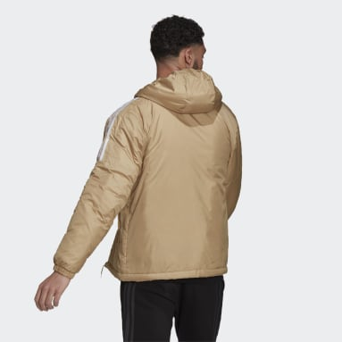 Essentials Insulated Hooded Jacket Beżowy