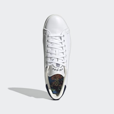 Originals White Rod Laver Vin Shoes