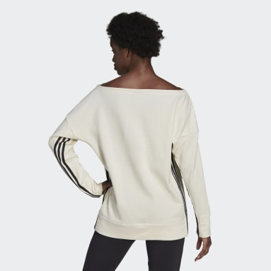 Women Sportswear White adidas Sportswear Recycled Cotton Cover-Up