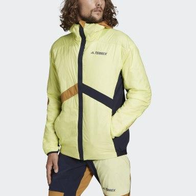 Mænd TERREX Gul Terrex Skyclimb Gore Hybrid Insulation Ski Touring jakke