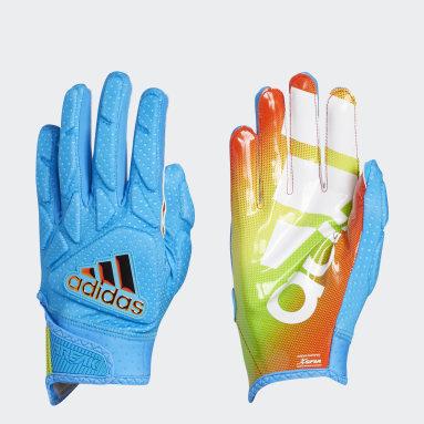 Football Blue Freak 5.0 All-American Game Gloves