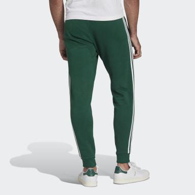 зеленый Брюки 3-Stripes