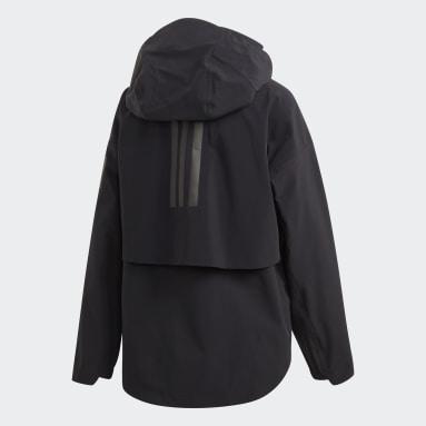 Women's Lifestyle Black MYSHELTER Rain Jacket