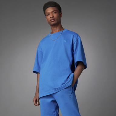 Men Originals Blue Blue Version Essentials T-Shirt