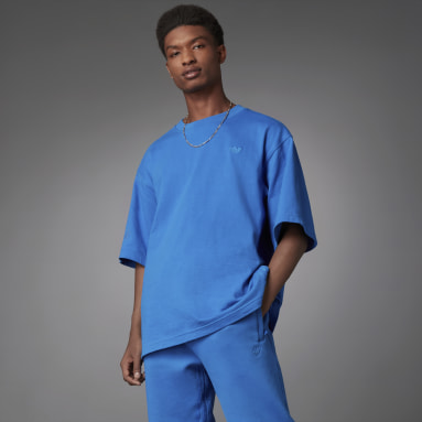 Blue Version Essentials Tee Niebieski