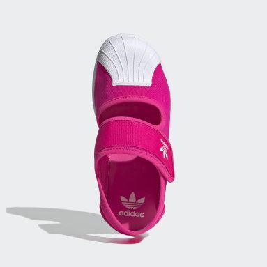 Kids Originals Pink Superstar 360 Sandals