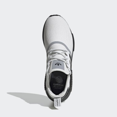 Men's Originals White NMD_R1 Primeblue Shoes