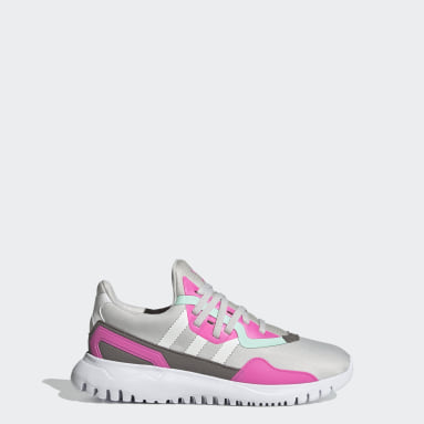 Youth Originals Grey Originals Flex Shoes