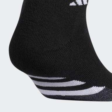 Men's Hiking Black Cushioned Low-Cut Socks 3 Pairs