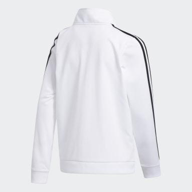 Youth Training White Iconic Tricot Jacket