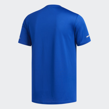 Camiseta Run Azul Hombre Running