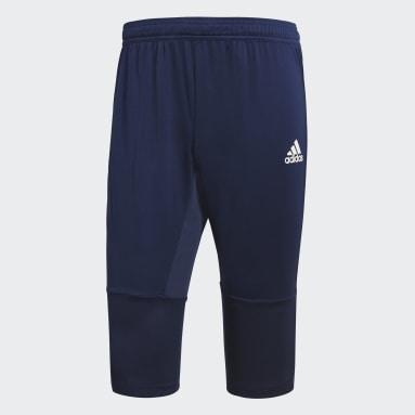Mænd Fodbold Blå Condivo 18 3/4 bukser