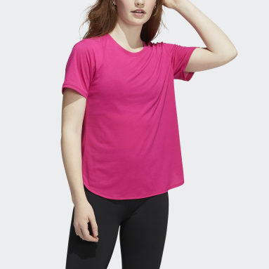 Women Training Pink Go To 2.0 Tee