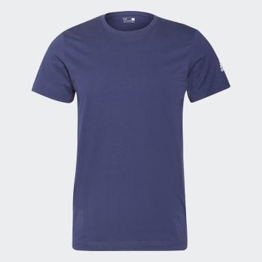 Men Gym & Training Blue BLANK G TEE M