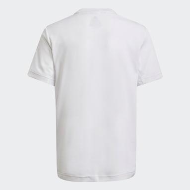 T-shirt HEAT.RDY Sport Blanc Garçons Fitness Et Training