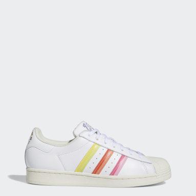 Men Originals White Superstar Pride Shoes
