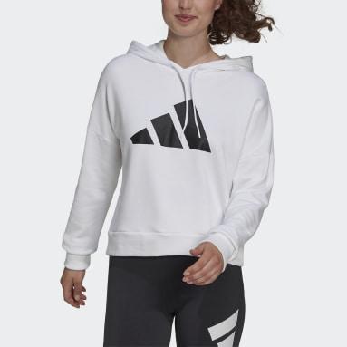 белый Худи adidas Sportswear Future Icons