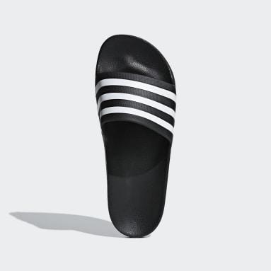 Swimming Black Adilette Aqua Slides
