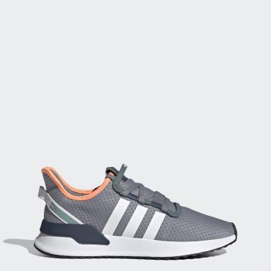 Men Originals Grey U_Path Run Shoes