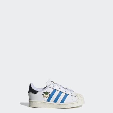 Infant & Toddler Originals White Superstar Star Wars Shoes