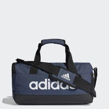 Essentials Logo Duffel Bag Extra Small Niebieski