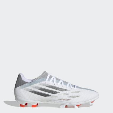 Football White X Speedflow.3 Firm Ground Boots