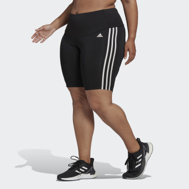 Γυναίκες Γυμναστήριο Και Προπόνηση Μαύρο Designed 2 Move High-Rise Sport Short Tights (Plus Size)
