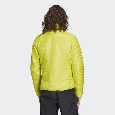 Men TERREX Yellow Terrex Techrock Primaloft Jacket