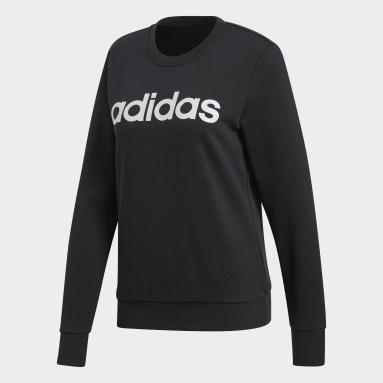 Sweat-shirt Essentials Linear noir Femmes Essentials