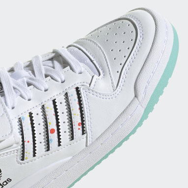 Girls Originals White adidas x Kevin Lyons Forum Low Shoes