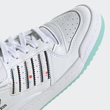 Tenis adidas x Kevin Lyons Forum Low Blanco Niño Originals